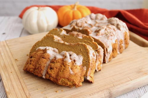 Healthy Spiced Paleo Pumpkin Bread Recipe