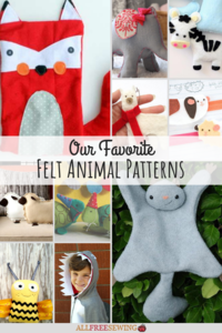 Our 36 Favorite Felt Animal Patterns