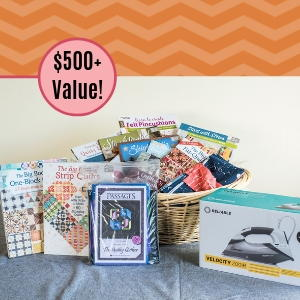 $500 Quilter's Essentials Gift Basket Giveaway
