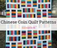 6 Chinese Coin Quilt Patterns