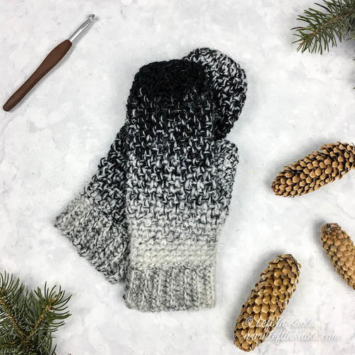 Cookies and Cream Mittens