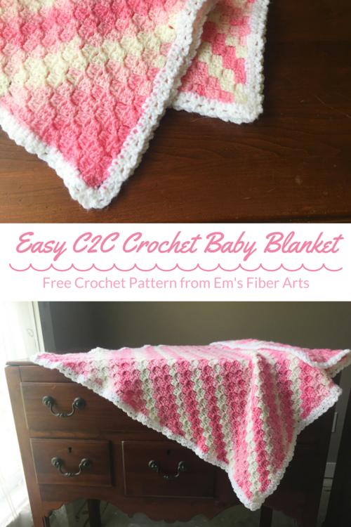 corner to corner baby blanket crochet pattern – 2019
