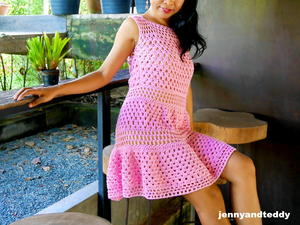 Granny Stitch Pretty Dress