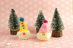 DIY Christmas Ornaments with Pom Pom Gnome