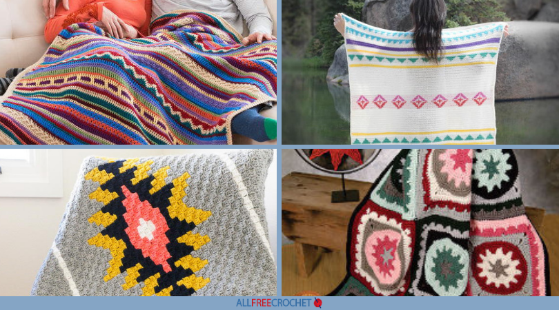 910bf7cc14006 16 Free Southwest Afghan Crochet Patterns