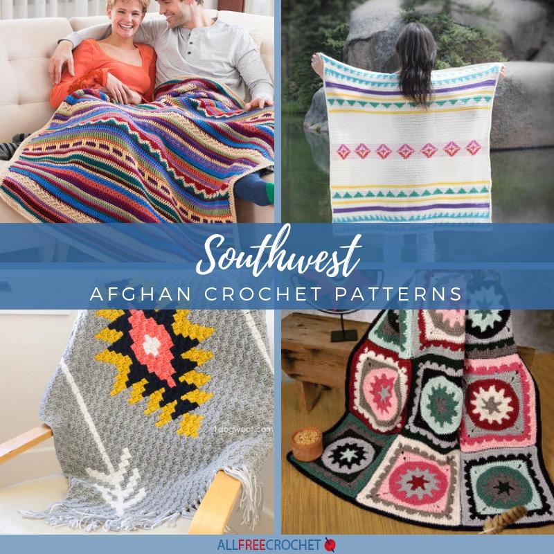 16 Free Southwest Afghan Crochet Patterns Allfreecrochet