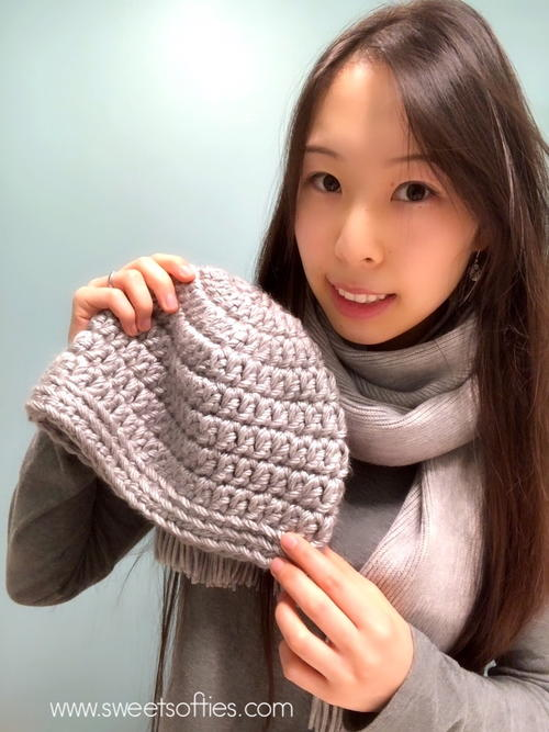 Super Simple Beginner's 30-minute Beanie