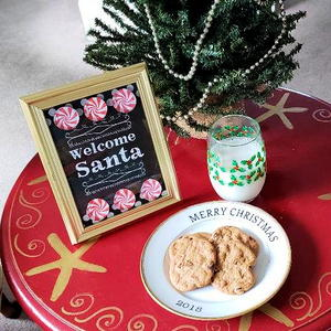 Free Printable Welcome Santa Sign