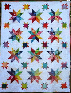 picture relating to Free Printable Barn Quilt Patterns known as 33 No cost Star Quilt Models
