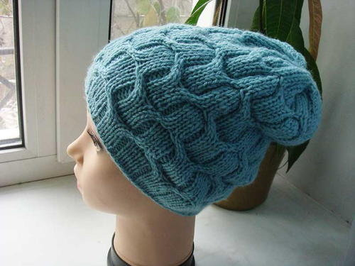 Wicker Mint Slouchy Hat