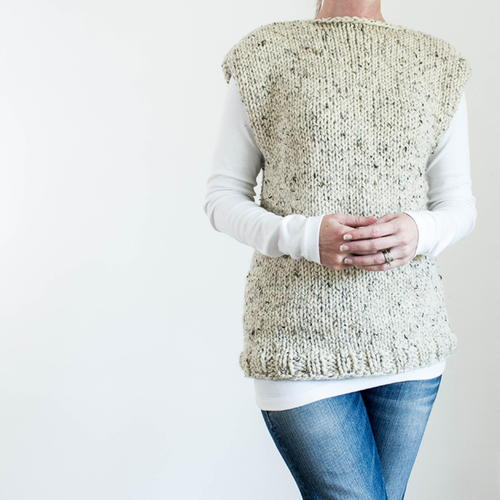 Thick & Quick Fall Top Knitting Pattern