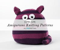 16 Extra Cute Amigurumi Knitting Patterns