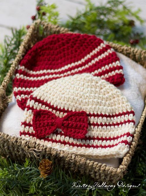 Cranberries   Cream Easy Baby Beanie Pattern  11808608028