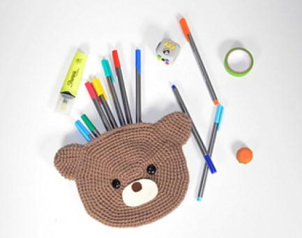 Bear Pencil Pouch