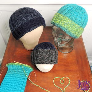 Ribbed Donation Hat