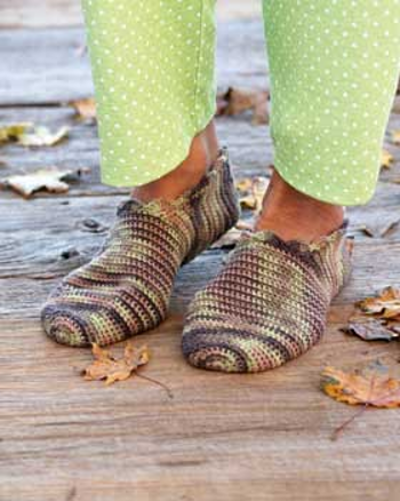Quick Crochet Slippers Pattern for Adults