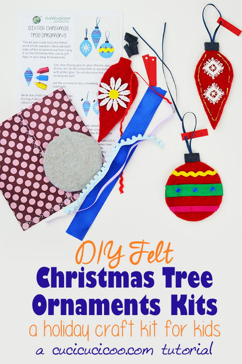 DIY Christmas Ornament Kits for Creative Kids