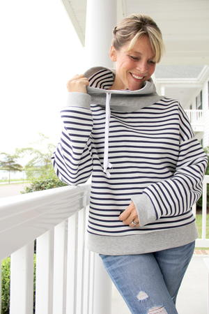 Snuggly Warm DIY Sweatshirt