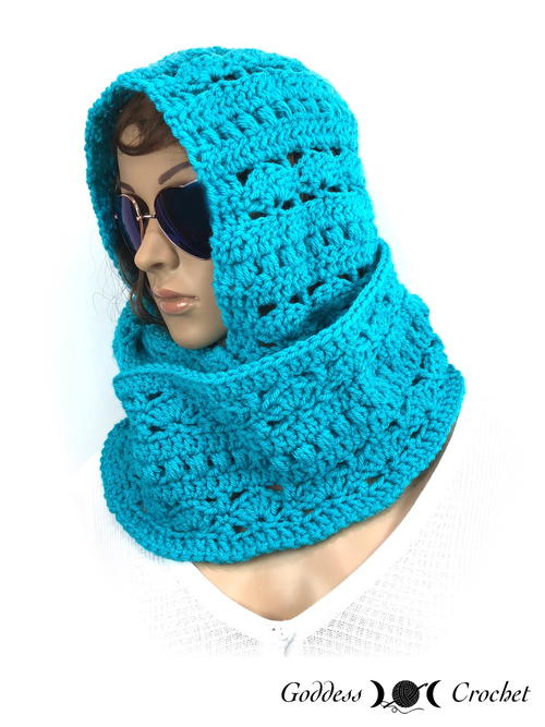 Hooded Infinity Scarf