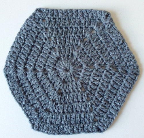 Solid Granny Hexagon
