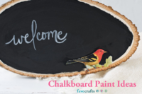 34 Chalkboard Paint Ideas