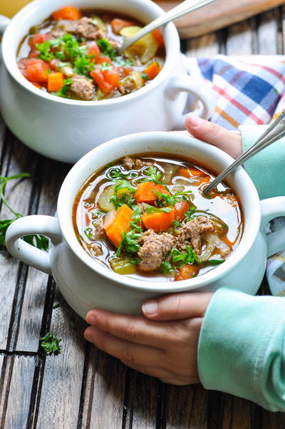Grandmother's Hamburger Soup