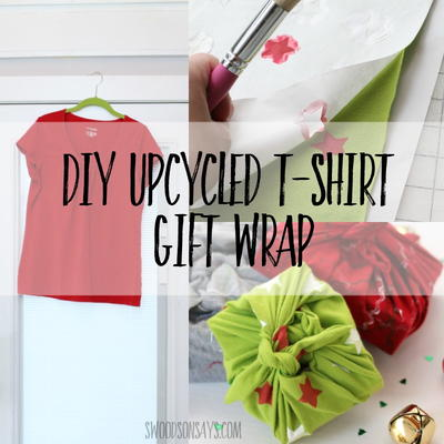 Upcycled, Reusable Gift Wrap