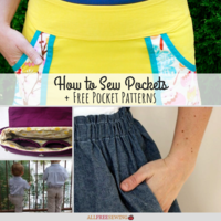 How to Sew Pockets + 8 Free Pocket Patterns