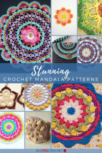 38+ Stunning Crochet Mandala Patterns