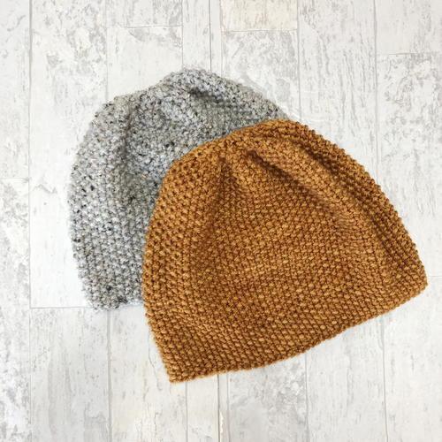bec14fa7b Seed Stitch Hat Knitting Pattern