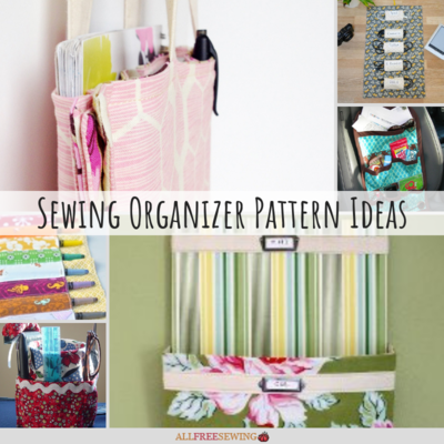 50 Organizer Sewing Patterns