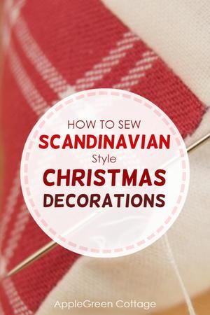 Scandinavian Christmas Decor Diy.Diy Scandinavian Christmas Decorations Diyideacenter Com