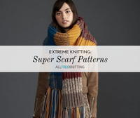 12 Knit Super Scarf Patterns