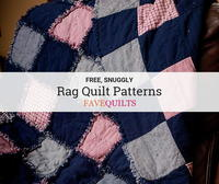 35+ Snuggly Free Rag Quilt Patterns