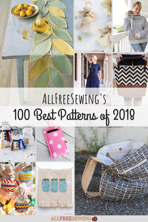 AllFreeSewings 100 Best Patterns of 2018