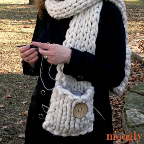 Big Fast Pocket Scarf