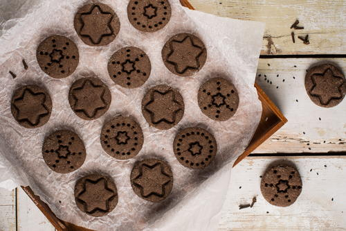 Soft Gingerbread Cookies Vegan and Gluten-Free