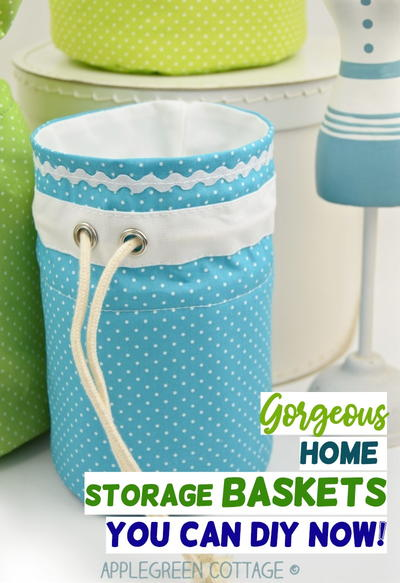 Gorgeous DIY Storage Baskets