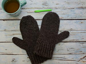 Basic Men's Mittens