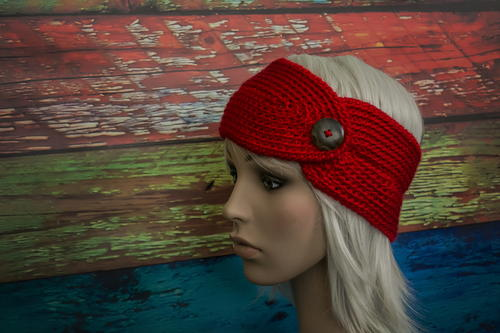 Stylish Headband with Button