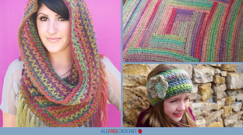 a1f3a4a36 50+ Variegated Yarn Crochet Patterns