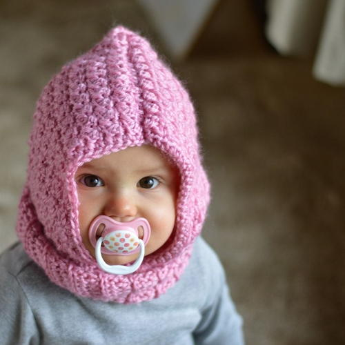 Baby Hooded Cowl