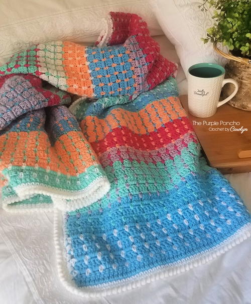 Chasing Colors Blanket
