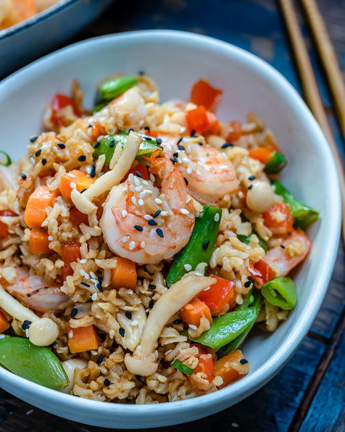 Easy Shrimp Fried Rice Recipe