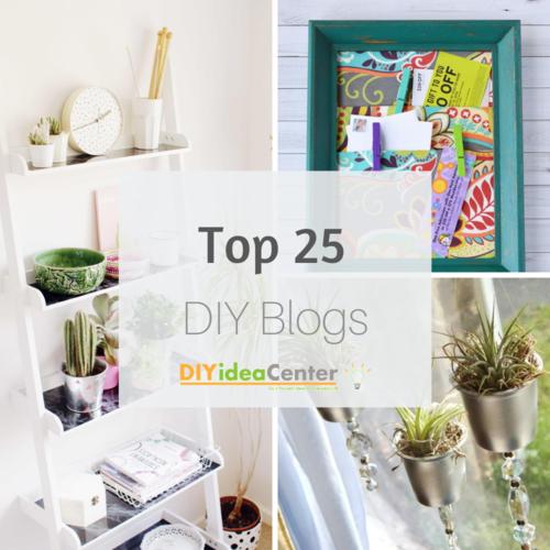 Top 25 DIY Blogs of 2018 | DIYIdeaCenter com