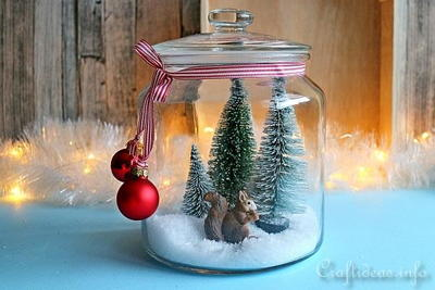 5-Minute Christmas or Winter Decoration