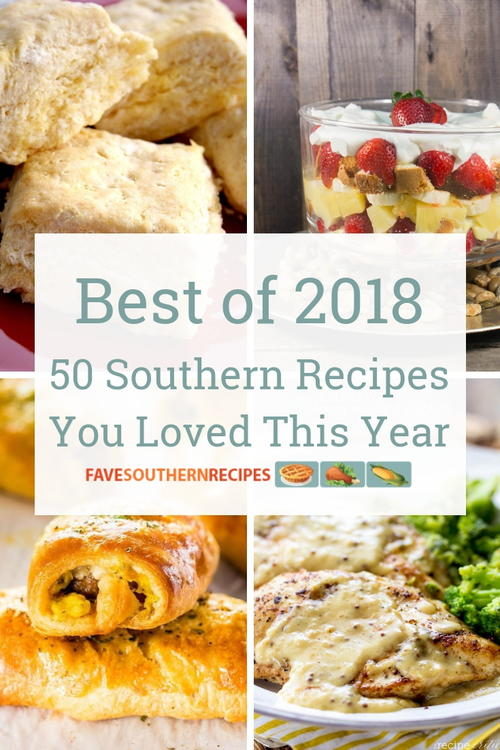 Top 50 Southern Recipes of 2018