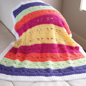 Dragonfly Crochet Blanket Pattern