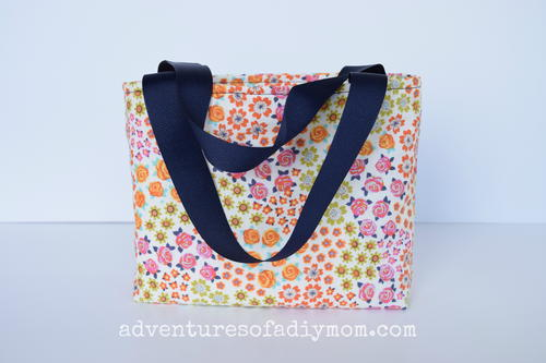 Small DIY Tote Bag with Lining
