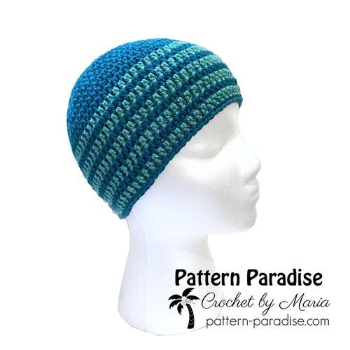 594992f62e3 Basic Crochet Beanie